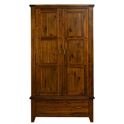 Debenhams - Acacia +Elba+ double wardrobe with drawer