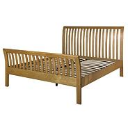 Oak 'Mitre' bed frame