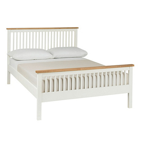 Debenhams - Oak and painted +Burlington+ bed frame