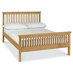 Debenhams - Oak finished 'Burlington' bed frame
