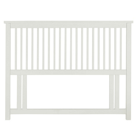 Debenhams - Soft white 'Burlington' headboard