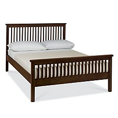 Debenhams - Stained oak finished 'Burlington' bed frame
