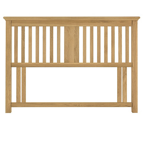 Debenhams - Oak 'Hampstead' headboard