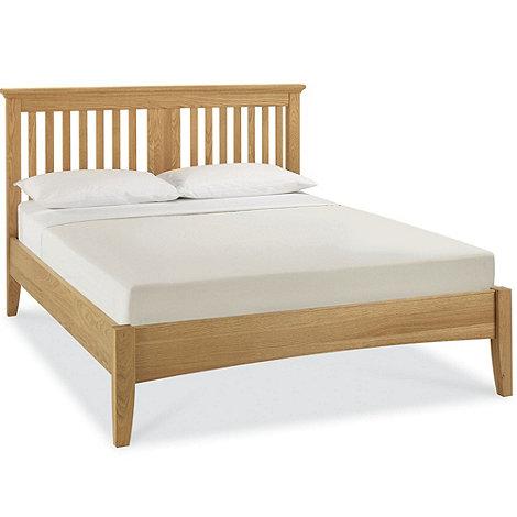Debenhams - Oak +Hampstead+ bed frame