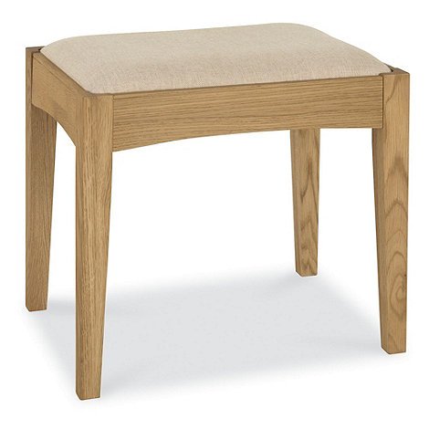 Debenhams - Oak +Hampstead+ stool