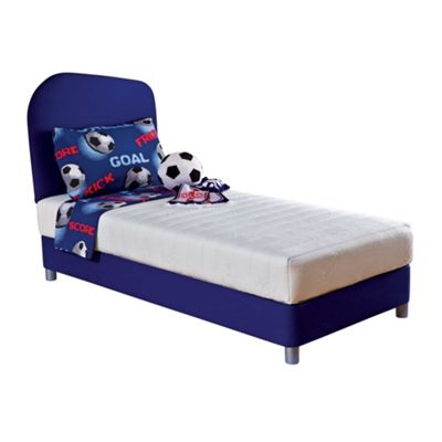 Junior blue headboard