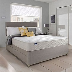 Silentnight - Miracoil' divan bed with memory mattress