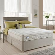 Miracoil' latex mattress and divan bed set