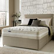 Mirapocket 1550' divan bed and mattress set
