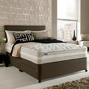 Mirapocket 2100' memory mattress and divan bed set