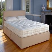 White 'Marlborough' firm tension mattress