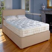White 'Marlborough' soft tension mattress