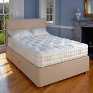 Cafe 'Marlborough' divan bed and soft tension mattress set