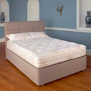 Truffle 'Marlow' divan bed and medium tension mattress