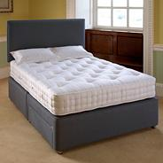 Platinum 'Salisbury' orthopaedic divan bed and mattress