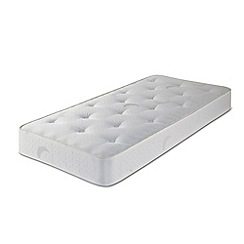 Airsprung - White 'Sleepheaven' kids single mattress