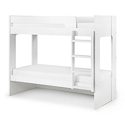 Debenhams White 'Ellie' bunk bed