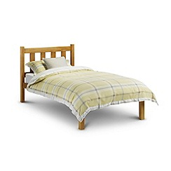 Debenhams - Pine 'Poppy' bed with 'Premier' mattress