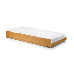 Julian Bowen - Pine 'Poppy' guest bed with 'Platinum' mattress