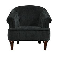 Debenhams - Velour 'Chesterfield' armchair