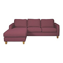 Debenhams - 'Dante' left-hand facing chaise corner sofa