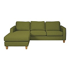 Debenhams - 'Dante' left-hand facing chaise corner sofa