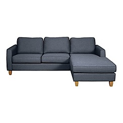 Debenhams - 'Dante' right-hand facing chaise corner sofa