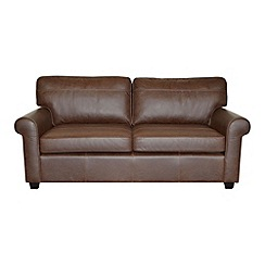 Debenhams - Medium leather 'Oban' sofa