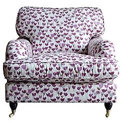 Debenhams - Floral print 'Alethea' armchair