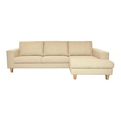 Ben de Lisi Home - 'Cara' right-hand facing chaise corner sofa
