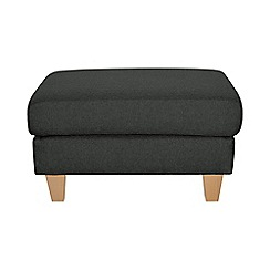 Ben de Lisi Home - Textured 'Cara Lemans' footstool
