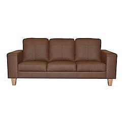 Ben de Lisi Home - Large leather 'Cara' sofa
