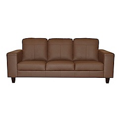 Ben de Lisi Home - Large leather 'Cara' sofa