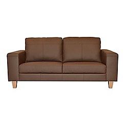 Ben de Lisi Home - Medium leather 'Cara' sofa