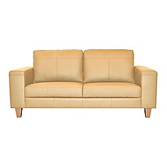 Ben de Lisi Home - Medium leather 'Cara' sofa