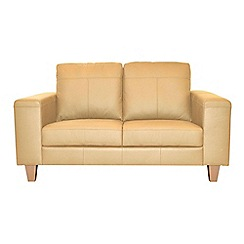 Ben de Lisi Home - Small leather 'Cara' sofa
