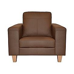 Ben de Lisi Home - Leather 'Cara' armchair