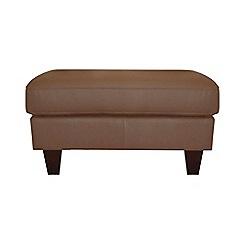 Ben de Lisi Home - Leather 'Cara' footstool