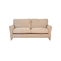 Debenhams - Large velour 'Fyfield Grace' sofa