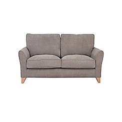 Debenhams - Medium velour 'Fyfield Grace' sofa