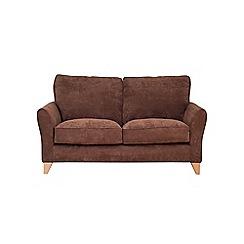 Debenhams - Medium velour 'Fyfield Grace' sofa