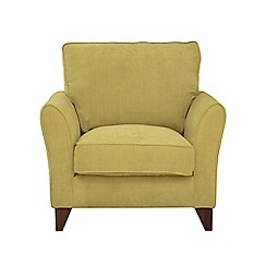 Debenhams - Velour 'Fyfield Grace' armchair