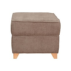 Debenhams - Velour 'Fyfield Grace' footstool
