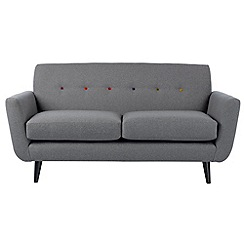 Ben de Lisi Home - Small 'Hockney' sofa with multi-coloured buttons