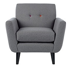 Ben de Lisi Home - Hockney' armchair with multi-coloured buttons