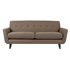 Ben de Lisi Home - Large 'Hockney' sofa with contrasting buttons