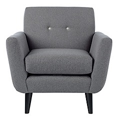 Ben de Lisi Home - 'Hockney' armchair with contrasting buttons