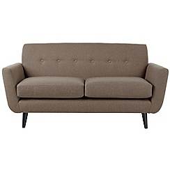 Ben de Lisi Home - Small 'Hockney' sofa with matching colour buttons