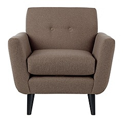Ben de Lisi Home - Hockney' armchair with matching colour buttons