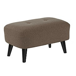 Ben de Lisi Home - Small 'Hockney' footstool with matching colour buttons